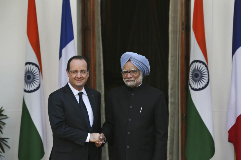 India, France review pending defense deal
