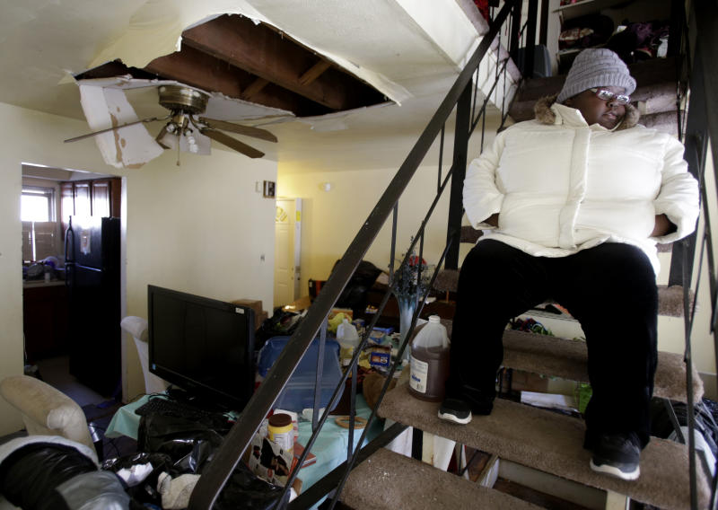 For Sandy's homeless, lives of anxiety in hotels