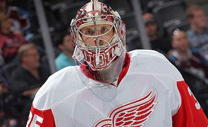 Jimmy Howard contract safe call for transitioning Red Wings team