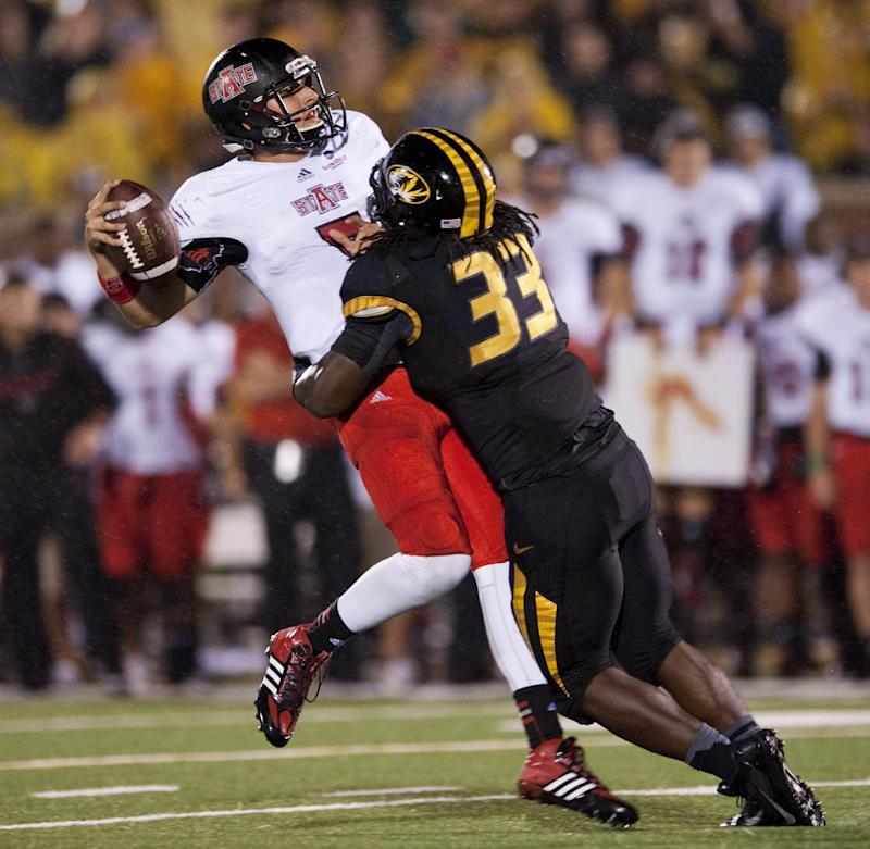 Missouri wakes up, beats Arkansas State, 41-19