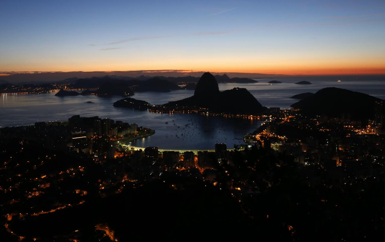 A view of the Sugar Loaf mountain in Rio de Janeiro March 11, 2014. Rio de Janeiro is one of the host cities for the 2014 soccer World Cup in Brazil. REUTERS/Sergio Moraes (BRAZIL - Tags: SPORT SOCCER WORLD CUP TPX IMAGES OF THE DAY)