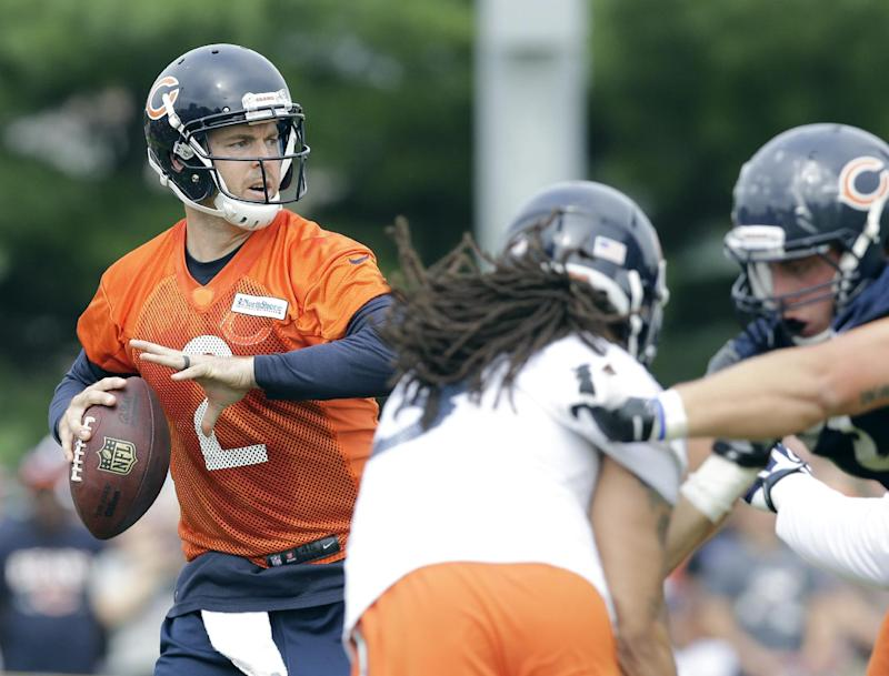 For Bears, backup QB 1 of few questions on offense