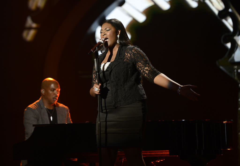 """Candice Glover performs """"You've Changed"""" on the Wednesday, May 1 episode of """"American Idol."""""""