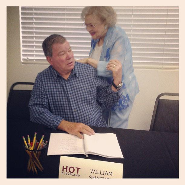 """""""Hey Bill. Glad you're here and guest starring with us on #HotInCleveland!"""""""
