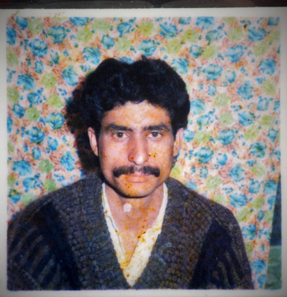 SRINAGAR, KASHMIR, INDIA - MARCH 30:  Photo of Imtiyaz Ahmad is seen on March 30, 2011 in Srinagar, the summer capital of Indian administered Kashmir, India. Ahmad was allegedly killed by by Indian troops on April 22, 1994 after Pakistan's defeat against Australia in a cricket match. (Photo by Yawar Nazir/Getty Images)