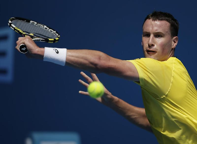 Berdych into 3rd round at Australian Open