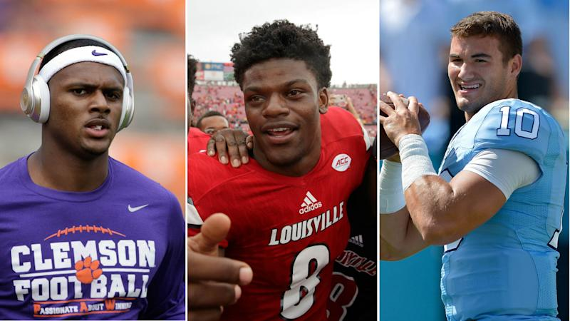Heisman Survey: Louisville quarterback Lamar Jackson way out front