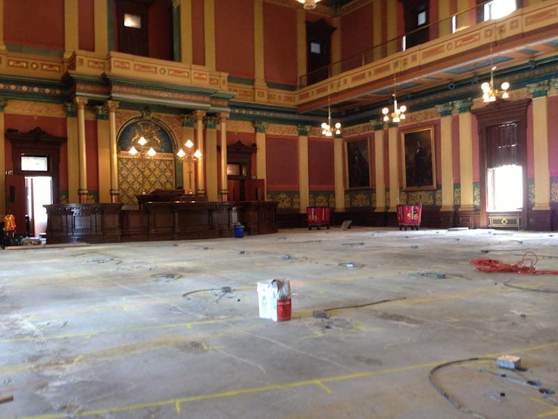 Medicaid vote complicated by Mich. Capitol work