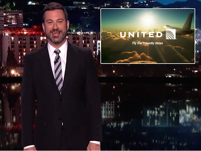 Jimmy Kimmel boots Matt Damon from United Airlines