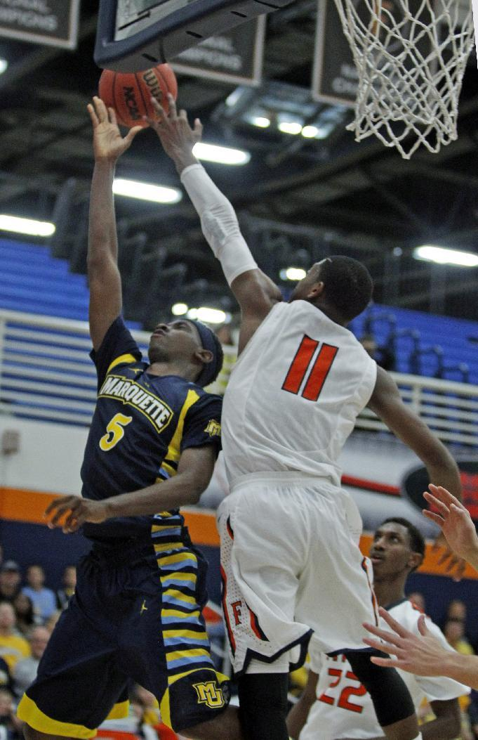 Wilson leads No. 25 Marquette over Fullerton 86-66