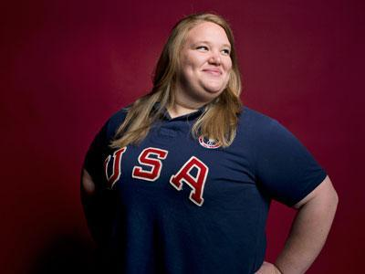 Holley Mangold will compete as a superheavyweight in weightlifting at the London Games. The younger sister of New York Jets center Nick Mangold wasn't supposed make the team until 2016, but recent progress put her ahead of schedule. (July 10)
