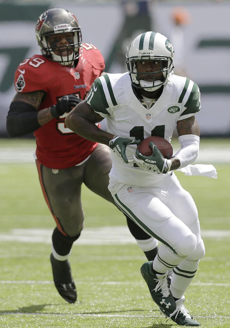 Jets WR Kerley out vs. Pats with concussion