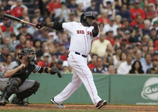 Ortiz drives in 3; Red Sox beat White Sox 7-6