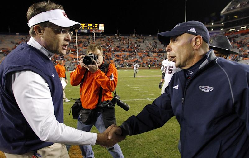Malzahn's looks for triumphant return to Arkansas