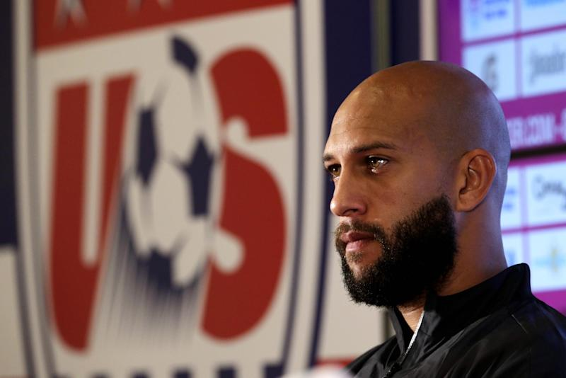 Goalkeeper Tim Howard taking break from US team