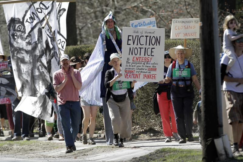 130 arrested in Vermont Yankee protest