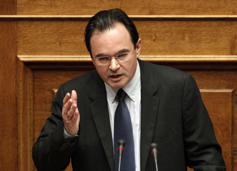 Greek Parliament votes to investigate ex-minister