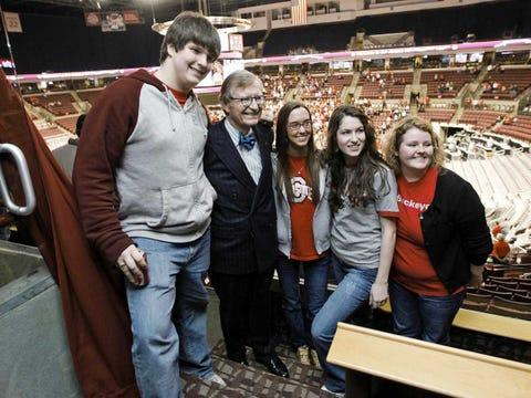 Ohio State University E Gordon Gee President Students