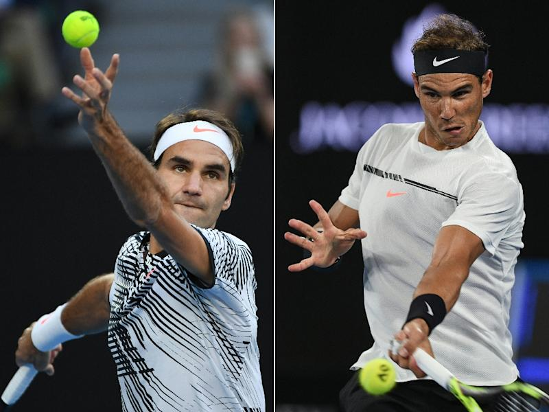 Nadal edges Dimitrov to face Federer in Australian Open final