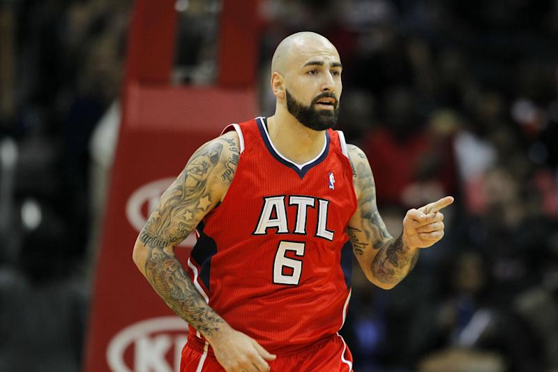 Hawks' Antic out 2 to 4 weeks with ankle injury