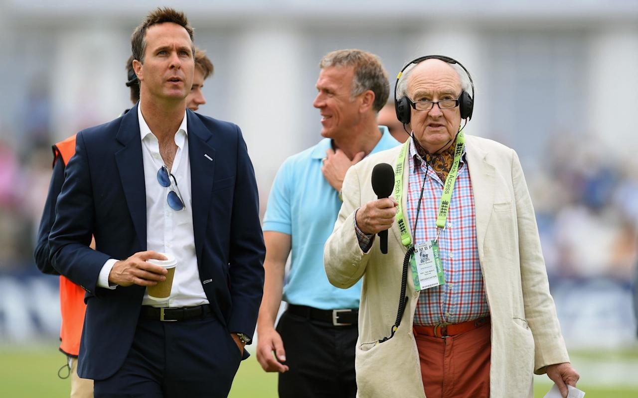 "Voice of cricket Henry Blofeld retires after finding himself  ""out of kilter"" with style of younger commentators"