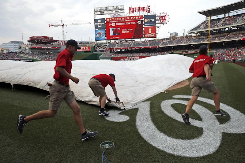 Orioles, Nationals postponed by rain, makeup Aug 4