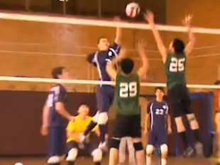 One-armed New York volleyball player Eddie Nogay — YouTube