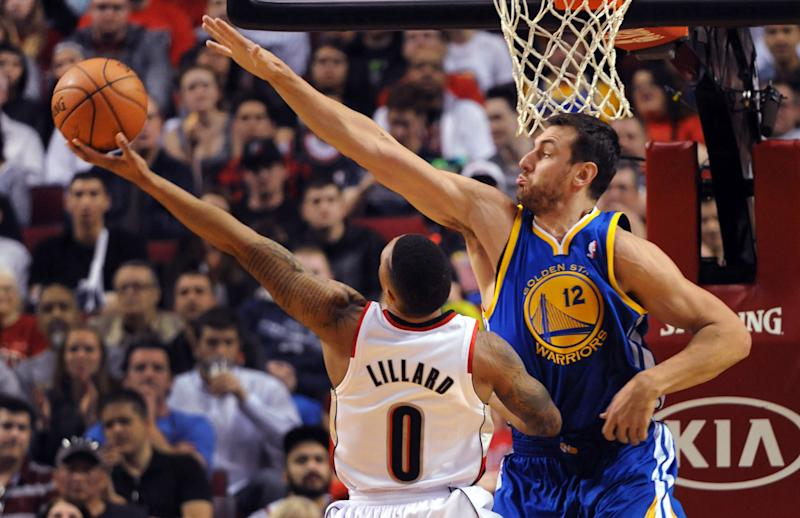 Warriors' Bogut out indefinitely with rib fracture