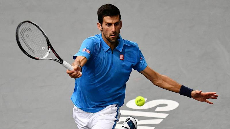 Novak Djokovic bows out of Paris Masters