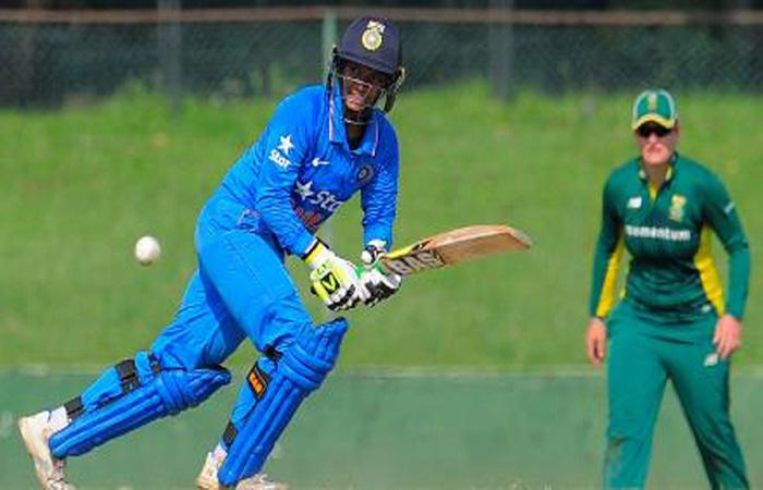 Indian eves thrash Zimbabwe by 3 wkts in Quadrangular Series