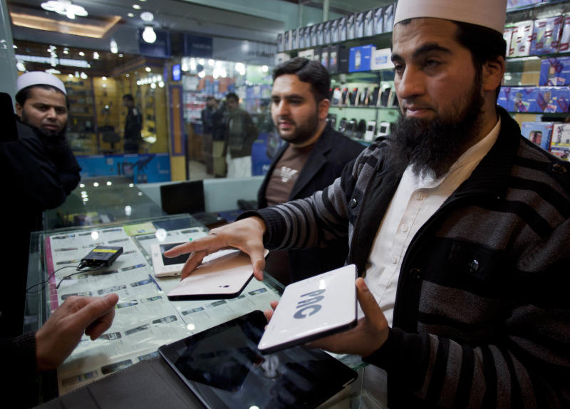 Guns and Androids: Pakistan military makes tablets