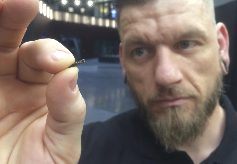 Employees get microchips implanted