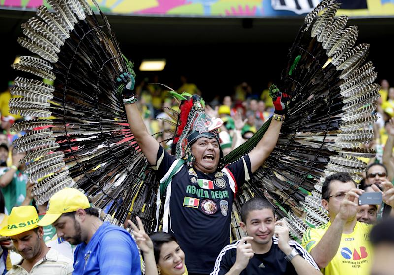 Latin Americans cheering for each other - for now