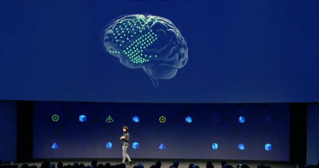 Facebook's moonshot projects: typing from your brain and 'hearing' with your skin