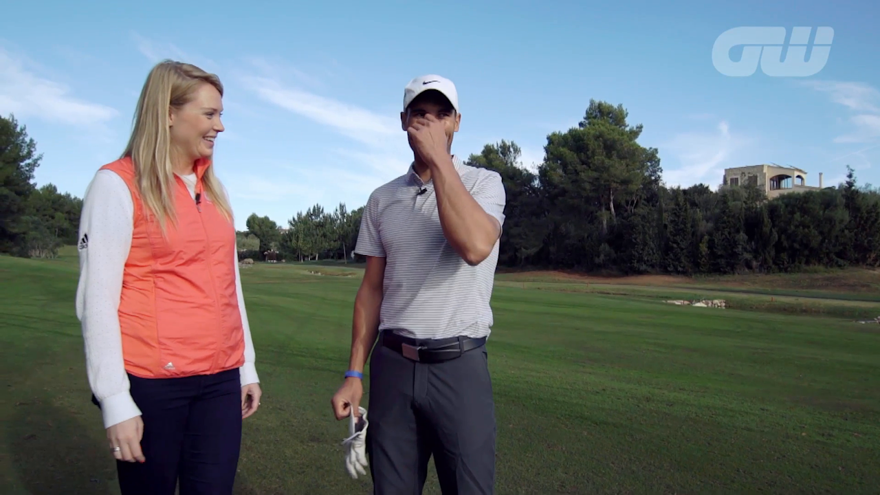 Behind the scenes at last week's Olazabal and Nadal Invitational event in Mallorca, where tournament hosts Jose Maria Olazabal and Rafael Nadal were both in action and both found time to speak to us