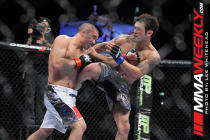 Cariaso and Lee at UFC 138