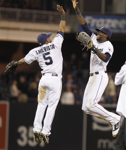 Ohlendorf, Alonso help Padres beat Astros 8-2