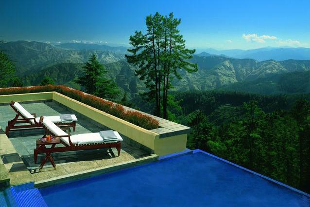 Wildflower Hall, Shimla in the Himalayas - The pine forests surrounding this colonial mansion provide a magical setting for a candle-lit dinner where you can propose.  Ananda–in the Himalayas, Uttarakhand (011 2656 8888; www.anandaspa.com) Wildflower Hall, Shimla in the Himalayas (0177 264 8585; www.oberoihotels.com)