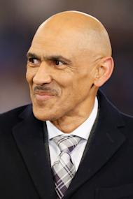 NFL announcer Tony Dungy (Mitch Stringer-USA TODAY Sports)