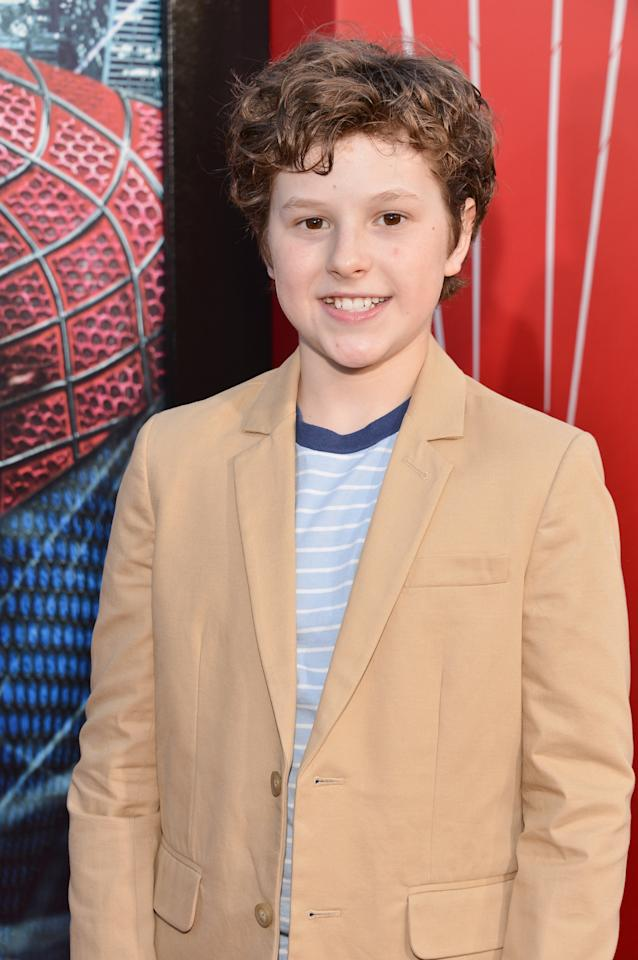 Nolan Gould is not known for his intelligence on the show, where he plays the destructive youngest member of the Dunphey clan. However, the kid genius is actually a member of Mensa at age 13. (Photo by Alberto E. Rodriguez/Getty Images)