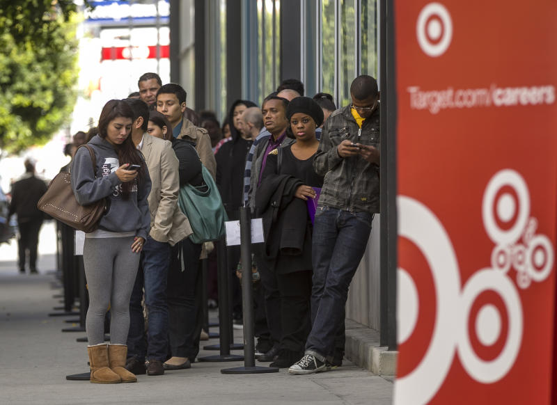 Target says 1Q profit will be short of outlook
