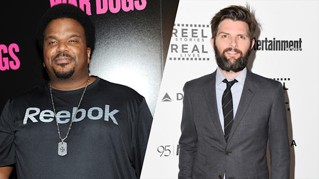 Adam Scott and Craig Robinson to Star in 'Ghosted' Pilot at Fox