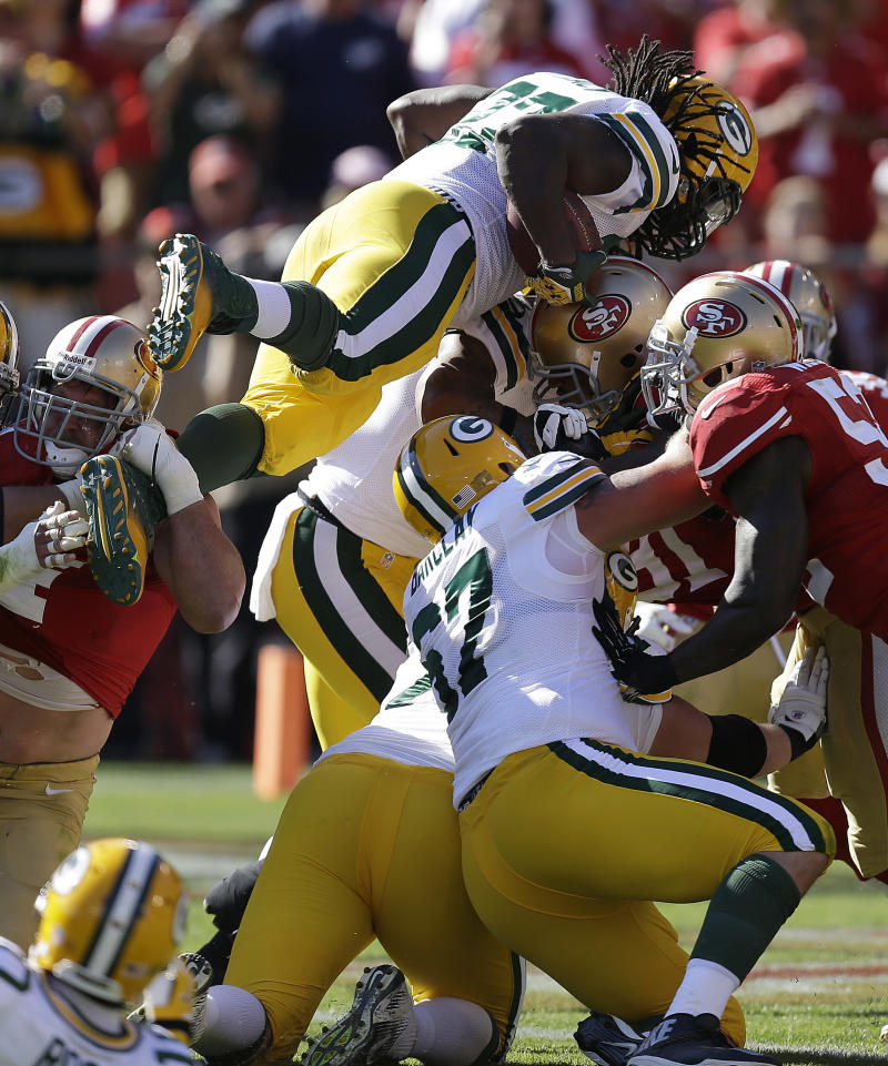 Lacy learning on job in Packers backfield