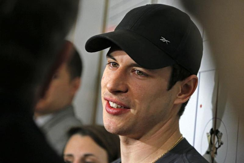 "Penguins Sidney Crosby says aching wrist is ""good"""