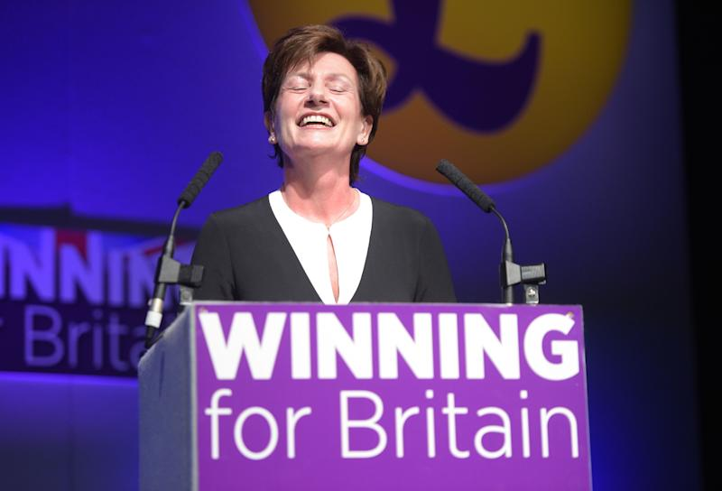 Diane James replaces Nigel Farage as leader of Ukip