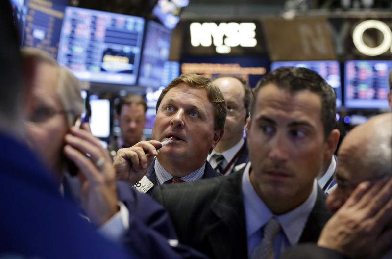 Mounting tensions with Syria sink US stocks