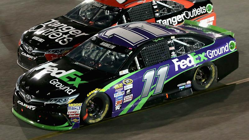 Denny Hamlin wins final race before the Chase at Richmond