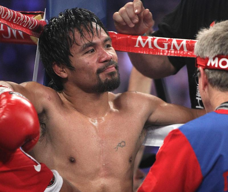 Pacquiao returns to ring Nov. 22 in Macau