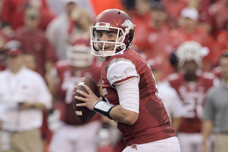 Allen healthy, ready to prove self at QB for Hogs