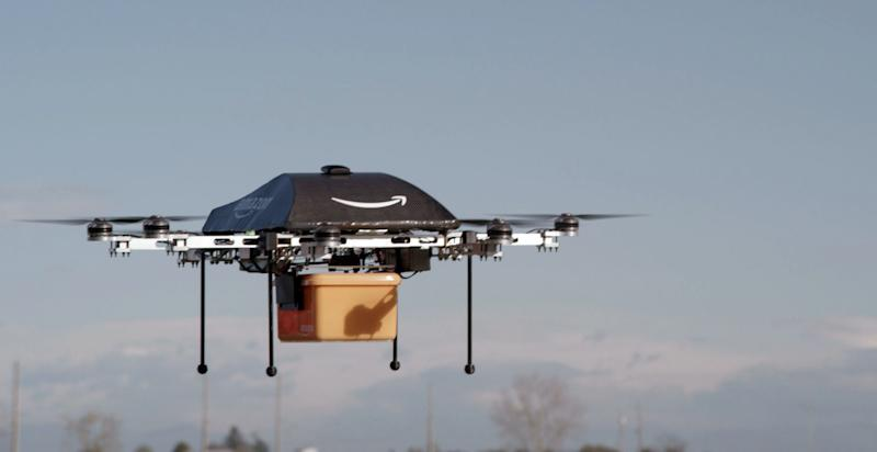 Amazon's delivery drones: An idea that may not fly